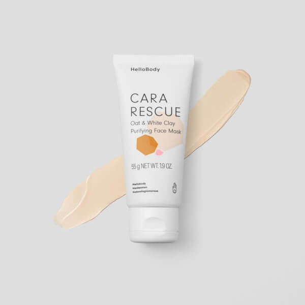 Cara Rescue Oat White Clay Purifying Face Mask